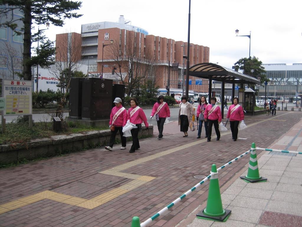 平成29年春季ごみのポイ捨て禁止運動