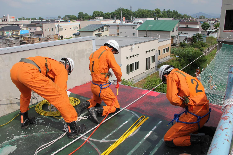 消防救助技術訓練指導会について